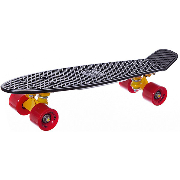 MaxCity Скейтборд MaxCity Plastic Board Gloss цена