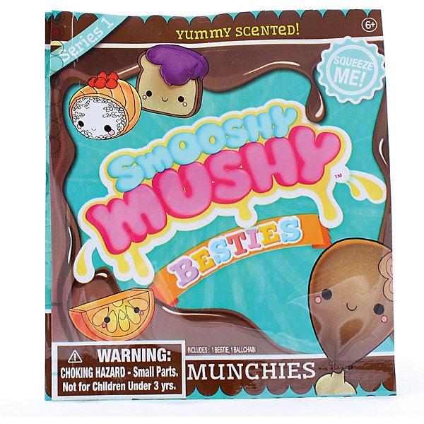 Игрушка-антистресс Smooshy Mushy Besties Вкусняшки, MunchiesСквиши<br>Характеристики:<br><br>• возраст: от 6 лет;<br>• материал: пластик;<br>• размер: 11x10x1 см;<br>• вес: 140 гр;<br>• бренд: Smooshy Mushy;<br>• страна бренда: США.<br><br>Игрушка-антистресс Smooshy Mushy Besties «Вкусняшки», Munchies порадует любого ребенка.  Каждая игрушка выполнена из мягкого вспененного материала, ее можно мять и сдавливать в руках, а после она быстро восстановит первоначальную форму. Фигурки имеют приятный аромат и петельки для подвешивания в качестве брелока.<br><br>Игрушку-антистресс Smooshy Mushy Besties «Вкусняшки», Munchies можно купить в нашем интернет-магазине.<br>Ширина мм: 110; Глубина мм: 100; Высота мм: 10; Вес г: 6; Цвет: разноцветный; Возраст от месяцев: 72; Возраст до месяцев: 120; Пол: Женский; Возраст: Детский; SKU: 8648699;