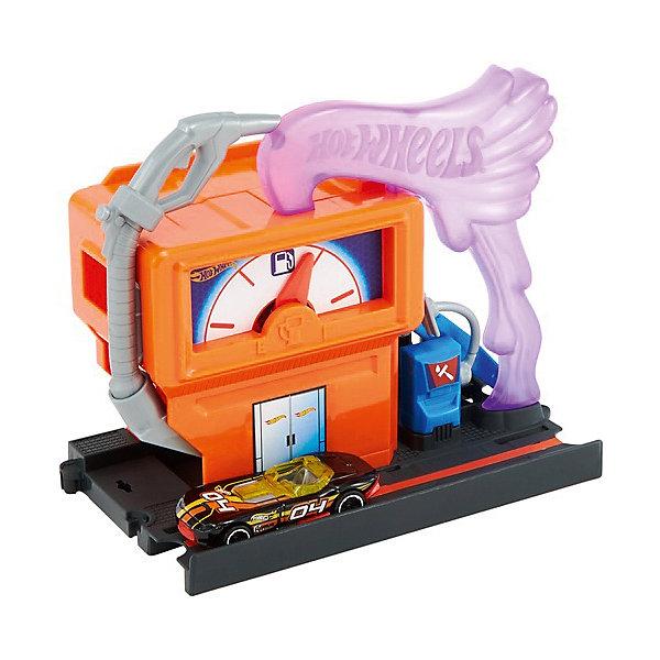 Mattel Автотрек Hot Wheels Сити Центральная заправочная станция