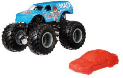 Базовая машинка Hot Wheels  Monster Jam  The Mad Scientist, артикул:8650201 - Игрушки для мальчиков