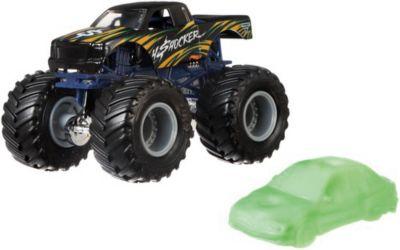 Базовая машинка Hot Wheels  Monster Jam  4Shocker, артикул:8650203 - Игрушки для мальчиков