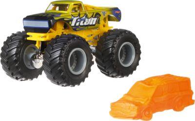 Базовая машинка Hot Wheels  Monster Jam  Titan, артикул:8650205 - Игрушки для мальчиков