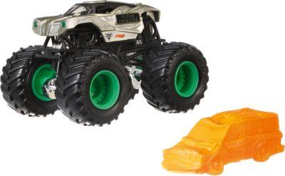 Базовая машинка Hot Wheels  Monster Jam  Alien Invasion, артикул:8650211 - Игрушки для мальчиков