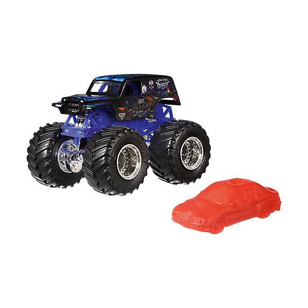 Mattel Базовая машинка Hot Wheels Monster Jam Sonuva Digger mattel машинка hot wheels monster jam бэтмен