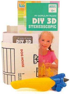 3Д ручка DIY 3D Stereoscopic  3D Magic Glue  Домик собачки, 1 ручка, артикул:8650385 - 3D ручки