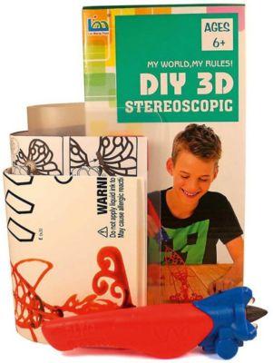 3Д ручка DIY 3D Stereoscopic  3D Magic Glue  Ракета, 1 ручка, артикул:8650387 - 3D ручки