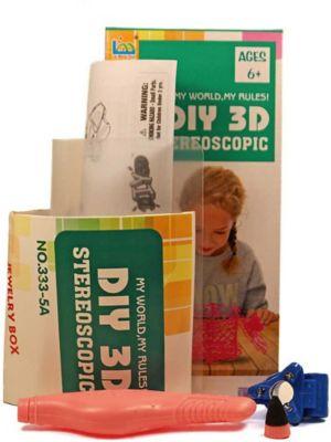 3Д ручка DIY 3D Stereoscopic  3D Magic Glue  Шкатулка, 1 ручка, артикул:8650391 - 3D ручки