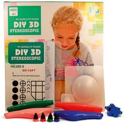 3Д ручка DIY 3D Stereoscopic  3D Magic Glue  Пегас, 4 ручки, артикул:8650431 - 3D ручки