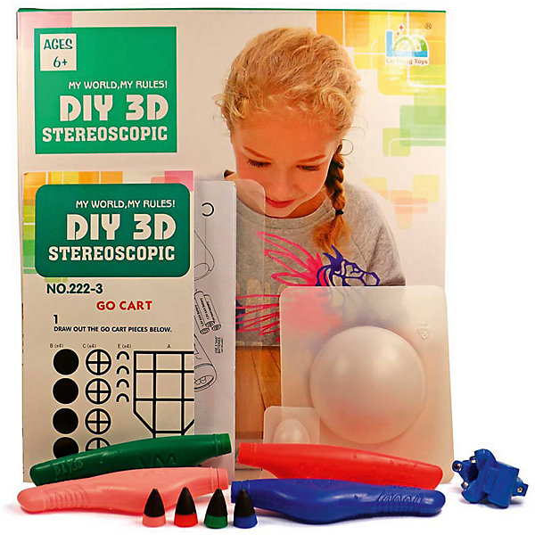 3D Stereoscopic 3Д ручка DIY 3D Stereoscopic 3D Magic Glue Пегас, 4 ручки