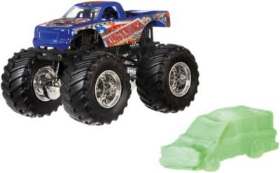 Базовая машинка Hot Wheels  Monster Jam  Kingkrunch, артикул:8652684 - Игрушки для мальчиков