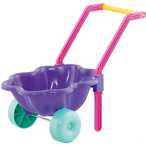 Тачка Dohany Облако, темно-синяяДетские тележки и тачки<br>Характеристики:<br><br>• тачка для игр в саду и на дачном участке;<br>• удобная цельная ручка;<br>• кузовок в виде облачка;<br>• широкие пластиковые колеса;<br>• устойчивость тачки;<br>• специальная подставка для удержания равновесия;<br>• материал: высококачественный, экологически безопасный пластик;<br>• размер упаковки: 46х37х27 см;<br>• вес: 600 г.<br><br>Подражая родителям, малыш с удовольствием будет катать игрушечную тачку, перевозить землю и песок, камушки и ракушки, а также, листья и веточки. Ребенок приучается к труду, вносит определенный вклад в общую работу, стремится выполнять мелкие поручения.