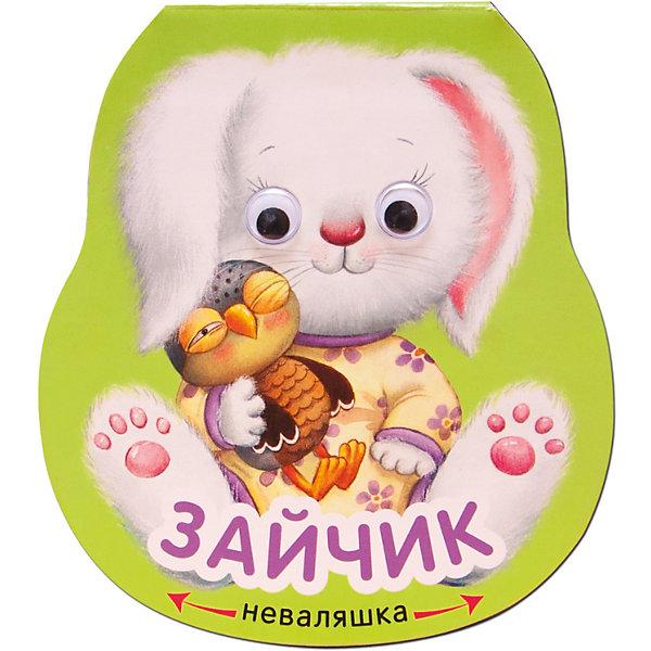 Купить Книжка-игрушка Неваляшки Зайчик, Мозаика-Синтез, Китай, Унисекс
