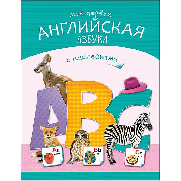 Купить Книжка с наклейками Моя первая английская азбука , Мозаика-Синтез, Россия, Унисекс