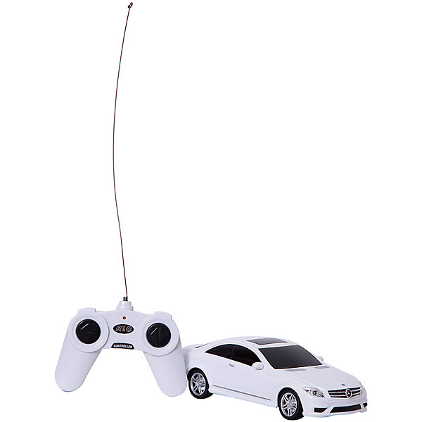 Rastar Радиоуправляемая машина Rastar Mercedes CL63 AMG 1:24, белая rastar радиоуправляемая модель mercedes benz glk class цвет белый масштаб 1 24