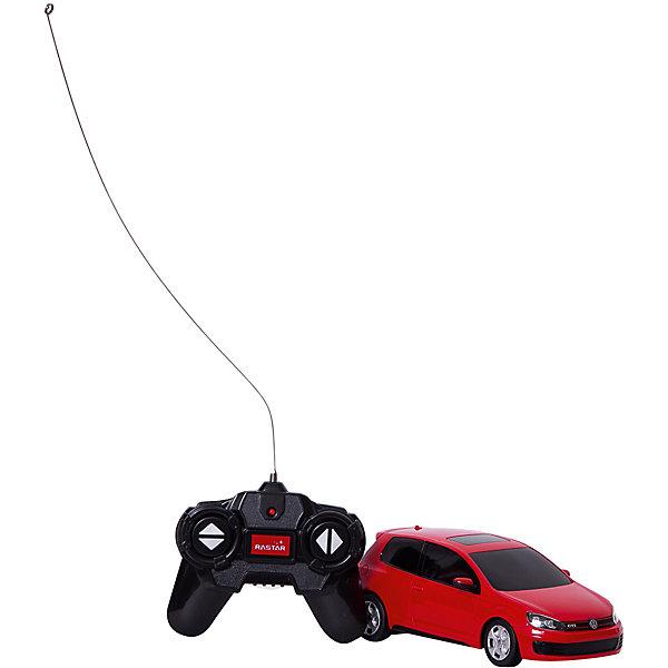 Rastar Радиоуправляемая машина Rastar Volkswagen Golf GTI 1:24, красная rastar rastar радиоуправляемая машина mini cooper countryman jcw rx масштаб 1 14