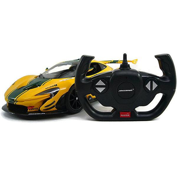 Rastar Радиоуправляемая машина Rastar McLaren P1 GTR 1:14, жёлтая