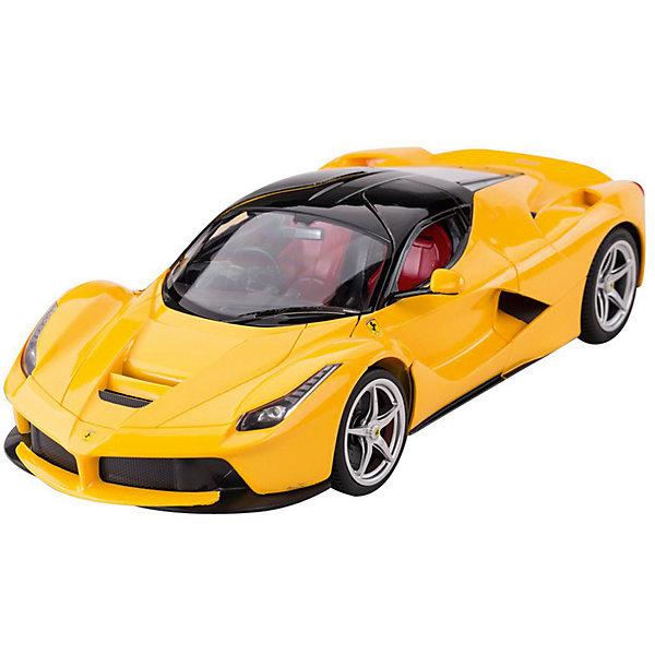 Rastar Радиоуправляемая машина Rastar Ferrari LaFerrari 1:14, жёлтая rastar радиоуправляемая модель mclaren p1 масштаб 1 14 цвет желтый