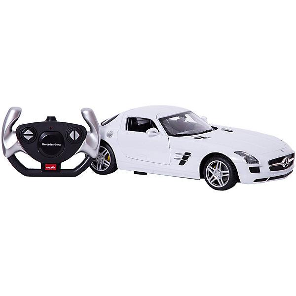 Rastar Радиоуправляемая машина Rastar Mercedes-Benz SLS AMG 1:14, белая rastar радиоуправляемая модель mercedes benz glk class цвет белый масштаб 1 24