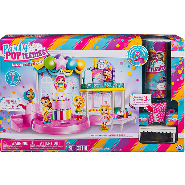 Spin Master Игровой набор Spin Master Party Popteenies Вечеринка игровой набор party popteenies игровой набор вечеринка