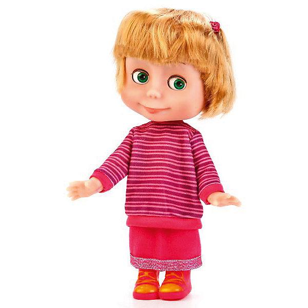 """Кукла Карапуз """"Маша и Медведь"""" Маша, 25 см, Фиолетовый"""