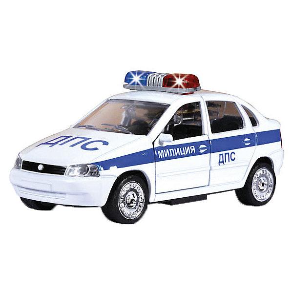 Купить Машинка Технопарк Лада-Калина ДПС , ТЕХНОПАРК, Китай, синий/белый, Мужской