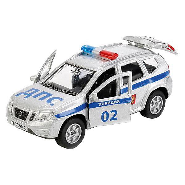 ТЕХНОПАРК Машинка Технопарк Nissan Terrano Полиция, 12 см