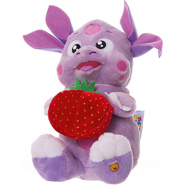 купить Мульти-Пульти Мягкая игрушка Мульти-Пульти Лунтик с клубничкой, 16 см по цене 699 рублей