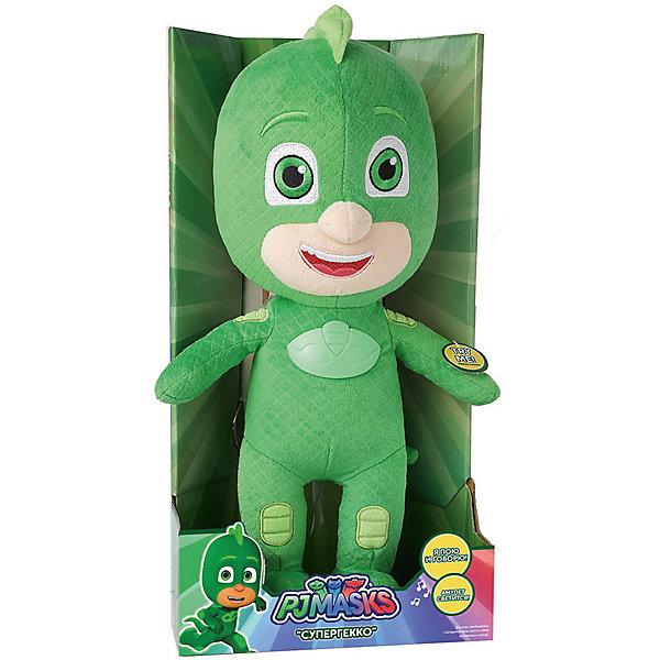 Купить Мягкая игрушка Росмен Герои в масках Гекко 38 см., со звуком, Росмэн, Китай, Мужской