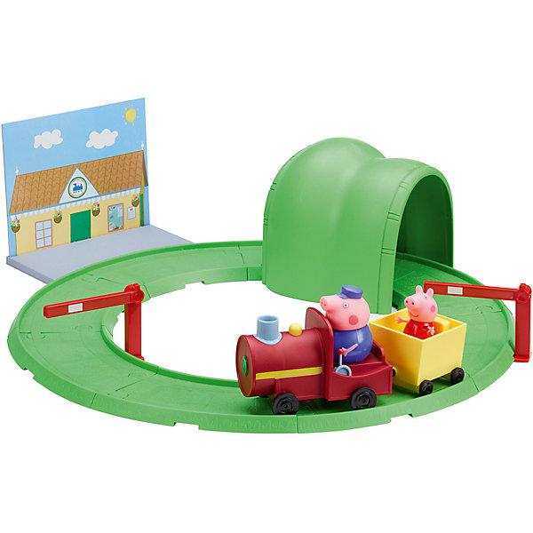 Росмэн Игровой набор Паровозик с туннелем