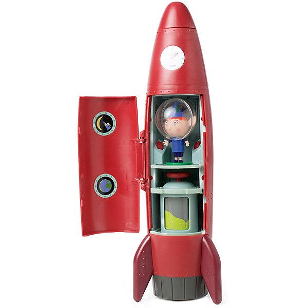 Игровой набор Росмэн Ракета со звуком с фигуркой БенаИгровые наборы с фигурками<br>Характеристики:<br><br>• возраст: от 3 лет;<br>• материал: пластик;<br>• комплектация: ракета, фигурка;<br>•  тип батареек: 3 AAA;<br>• наличие батареек: не входят в комплект;<br>• размер: 12,5х16,5х34,5 см;<br>• вес: 560 гр;<br>• бренд: Росмэн;<br>• страна производства: Россия.<br><br>Игровой набор Росмэн «Ракета со звуком» обязательно придется по душе вашему малышу. У ракеты имеются два отсека: верхний и нижний. Верхний отсек открывается, в нем располагается источник света, который работает в двух режимах: обычном и мерцающем. В нижнем отсеке находятся кабина Бена, кнопки для воспроизведения свето-звуковых эффектов и топливный бак, который можно вращать вручную. Игрушка воспроизводит 4 фразы из мультфильма. Специальная ручка помогает легко управлять летательным аппаратом. В игровой набор Ракета со звуком входит 2 предмета: интерактивная ракета с ручкой для переноски, фигурка Бена-космонавта на съемной устойчивой подставке. <br><br>Игровой набор Росмэн «Ракета со звуком» можно купить в нашем интернет-магазине.<br>Ширина мм: 345; Глубина мм: 165; Высота мм: 125; Вес г: 560; Цвет: разноцветный; Возраст от месяцев: 36; Возраст до месяцев: 120; Пол: Унисекс; Возраст: Детский; SKU: 8668794;