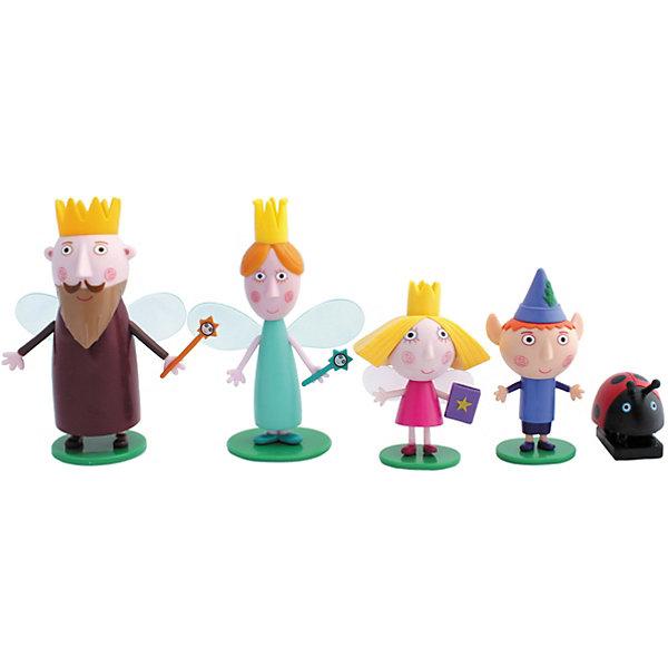Росмэн Игровой набор Росмэн Бен и Холли, 5 фигурок росмэн набор свечей на палочках росмэн бен и холли 5 шт
