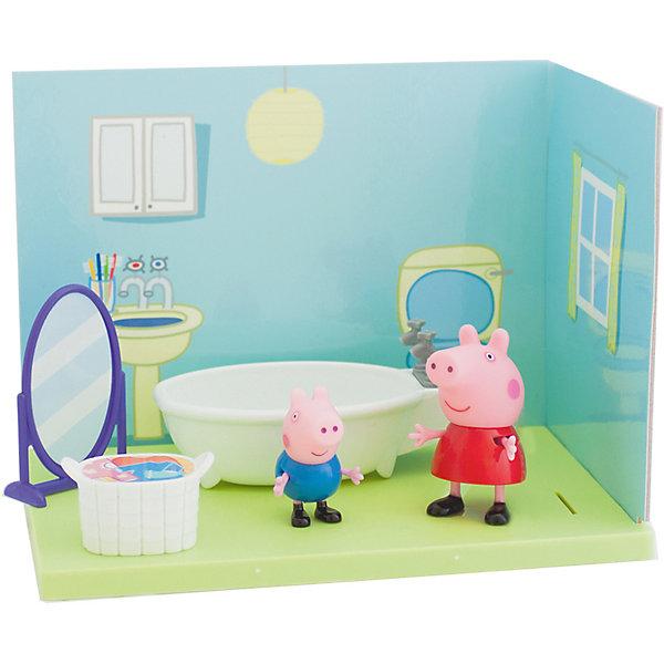 Росмэн Игровой набор Ванная комната Пеппы и Джорджа