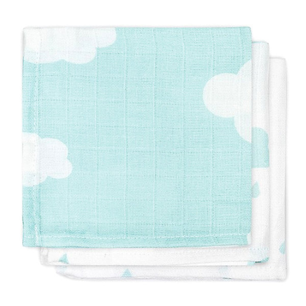jollein Салфетки для лица, 3шт, Clouds Jade (Нефритовые облака) monalisa салфетки косметические для лица bellagio 180 шт