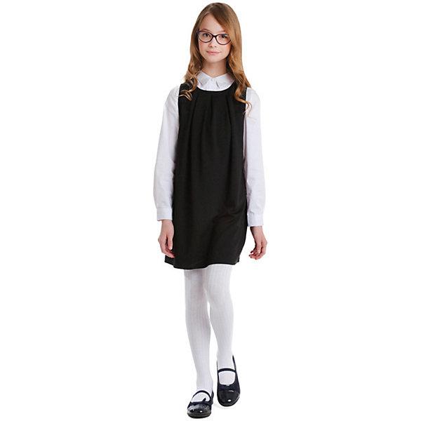 Купить Сарафан S'cool для девочки, Китай, черный, 152, 122, 128, 134, 140, 146, Женский