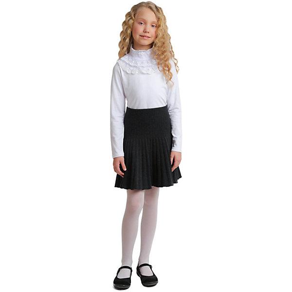 Водолазка Scool для девочкиВодолазки<br>Характеристики товара:<br><br>• цвет: белый;<br>• состав: 95% хлопок, 5% эластан;<br>• сезон: демисезон;<br>• застёжка: кнопки на спинке;<br>• водолазка с длинным рукавом;<br>• декорирована ажурной тесьмой;<br>• особенности: школьная, нарядная;<br>• коллекция: Classic;<br>• страна бренда: Германия.<br><br>Школьная водолазка Scool для девочки. Водолазка выполнена из натурального хлопка. На спинке расположены застежки - кнопки. Горловина и верхняя часть полочки дополнены ажурной тесьмой.<br>Ширина мм: 230; Глубина мм: 40; Высота мм: 220; Вес г: 250; Цвет: белый; Возраст от месяцев: 120; Возраст до месяцев: 120; Пол: Женский; Возраст: Детский; Размер: 140,146,152,134,122,128; SKU: 8684844;
