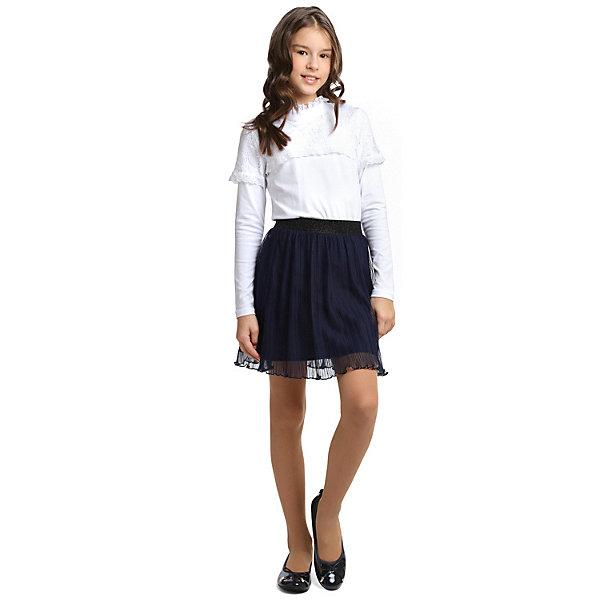 Блузка Scool для девочкиБлузки и рубашки<br>Характеристики товара:<br><br>• цвет: белый;<br>• состав: 95% хлопок, 5% эластан;<br>• сезон: демисезон;<br>• застёжка: пуговица на горловине сзади;<br>• блузка с длинным рукавом;<br>• воротник-стойка;<br>• манжеты и низ изделия на мягкой эластичной резинке;<br>• ажурная вставка;<br>• особенности: школьная, нарядная;<br>• коллекция: Classic;<br>• страна бренда: Германия.<br><br>Школьная блузка Scool для девочки. Блузка с воротником-стойкой и длинным рукавом из натуральной ткани. Блузка на спинке застегивается на пуговицу - бусину. Полочка и верхняя часть рукавов декорированы ажурной вставкой.<br>Ширина мм: 186; Глубина мм: 87; Высота мм: 198; Вес г: 197; Цвет: белый; Возраст от месяцев: 168; Возраст до месяцев: 168; Пол: Женский; Возраст: Детский; Размер: 164,122,128,134,140,146,152,158; SKU: 8684848;