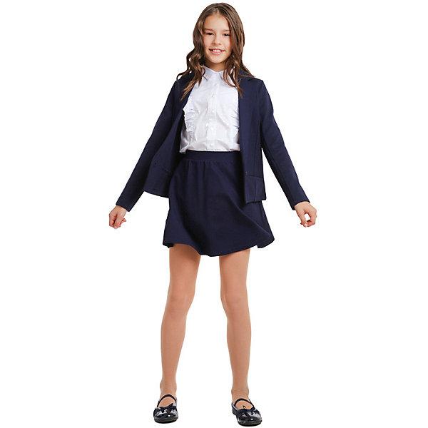 Купить Юбка S'cool для девочки, Китай, темно-синий, 152, 134, 158, 122, 128, 140, 146, 164, Женский