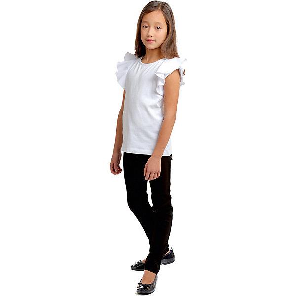Купить Брюки S'cool для девочки, Китай, черный, 164, 128, 134, 140, 146, 152, 158, Женский