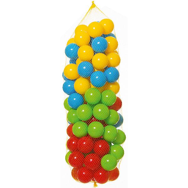 Zebratoys Шарики для сухого бассейна Zebratoys, 100 шт. шарики для сухого бассейна pilsan шарики для сухого бассейна 100 штук 9 см пакете сумке