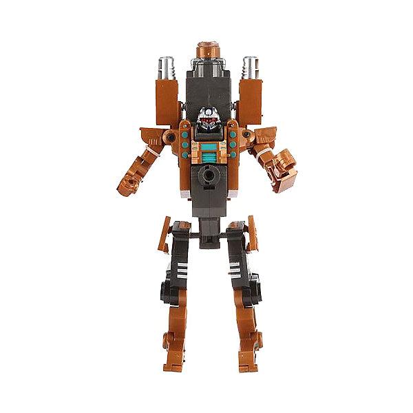 Купить Робот-бластер 2в1 с мягкими снарядами, защитные очки в комплекте, 32х13х25, 5 см ShantouGepai, Shantou Gepai, Китай, серый/оранжевый, Мужской