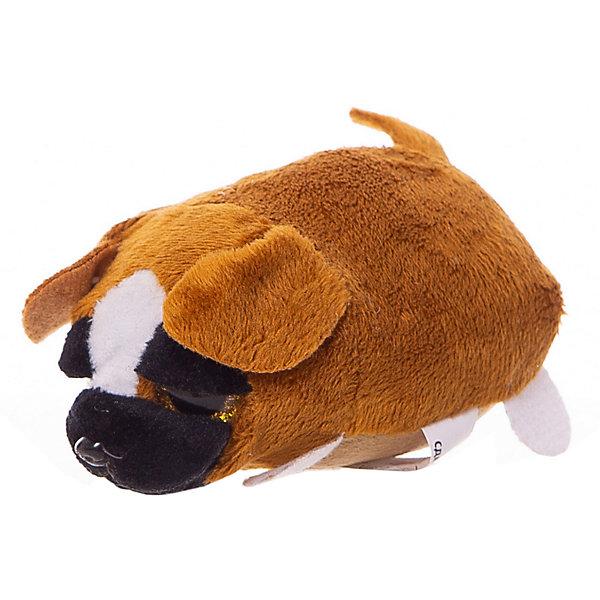 ABtoys Мягкая игрушка ABtoys Собачка коричневая, 10 см игрушка мягкая maxi play собачка кнопка коричневая 23см mt ts0413011 23