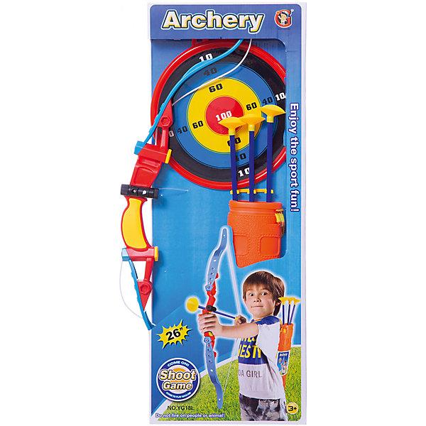 YG Sport Игрушечное оружие YG Sport Набор для стрельбы из лука yg sport игровой набор лови бросай