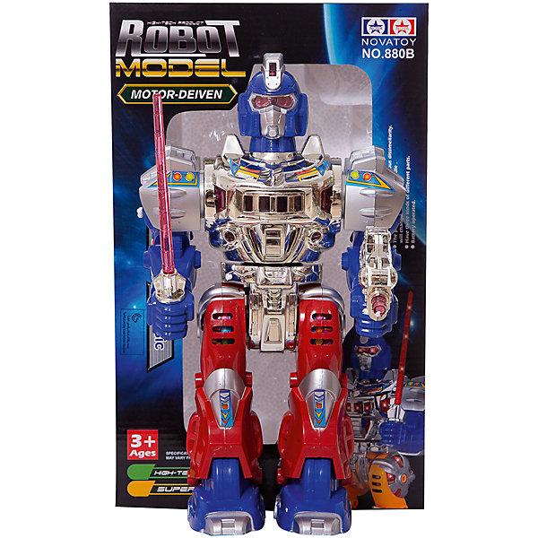 Купить Робот эл/мех, звуковые и световые эффекты, пластмасса, в коробке, 20, 8х11х33, 6см ShantouGepai, Shantou Gepai, Китай, разноцветный, Мужской