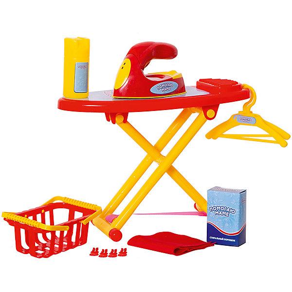 ABtoys Набор для уборки Помогаю Маме Гладильный набор, 8 предметов