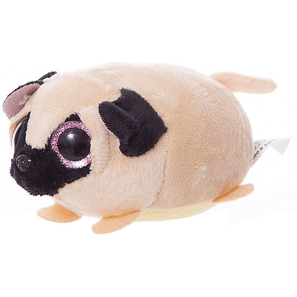 ABtoys Мягкая игрушка Собачка белая, 10 см