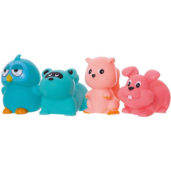 ABtoys Набор игрушек для ванной ABtoys Весёлое купание, 4 шт lubby набор игрушек для ванной морской мир 4 шт