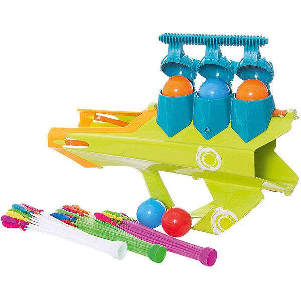 Купить Бластер для водяных бомбочек и снежков и мячей 3 в 1 ABtoys Веселые забавы , Китай, разноцветный, Мужской