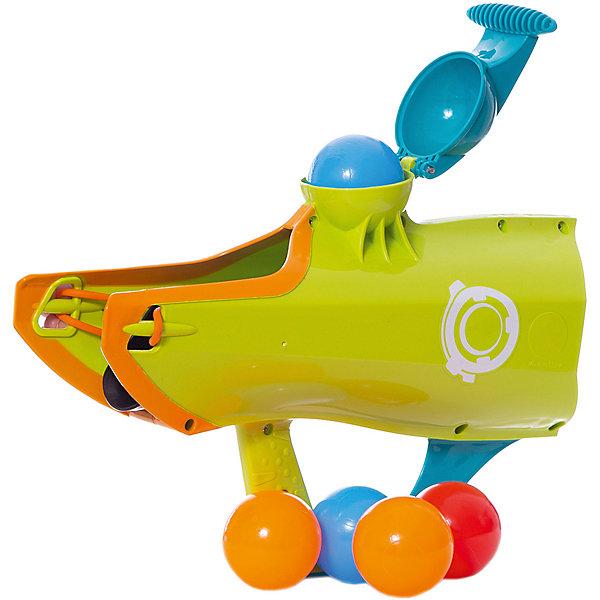 Бластер для водяных бомбочек и снежков 2 в 1 ABtoys Веселые забавыИгрушечное оружие<br>Характеристики товара:<br><br>• возраст: от 6 лет;<br>• из чего сделана игрушка (состав): пластик;<br>• комплект: 1 бластер, 5 шариков;<br>• цвет: разноцветный;<br>• размеры: 25,5х10,5х28 см.;<br>• вес: 625 гр.;<br>• упаковка: картонная коробка.<br><br>Бластер для снежков «Веселые забавы» сможет стать замечательным подарком для каждого ребенка. <br><br>Игрушка может использоваться как зимой, так и летом. <br><br>В зимнее время снежкобластер будет незаменимым в битве снежками, а летом он может стрелять шариками. <br><br>Игрушка сделана из яркого пластика, поэтому она не боится воды. <br><br>Шарики для стрельбы также есть в комплекте.<br>Ширина мм: 255; Глубина мм: 105; Высота мм: 280; Вес г: 625; Цвет: разноцветный; Возраст от месяцев: 72; Возраст до месяцев: 120; Пол: Мужской; Возраст: Детский; SKU: 8688409;
