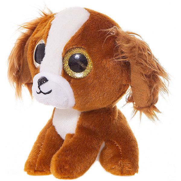 ABtoys Мягкая игрушка ABtoys Собачка коричневая, 15 см игрушка мягкая maxi play собачка кнопка коричневая 23см mt ts0413011 23