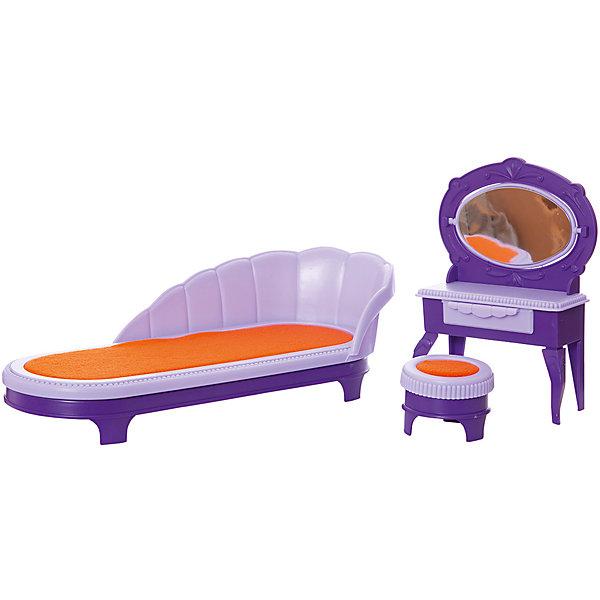 Купить Мебель для куклы Огонёк Конфетти Будуар, Огонек, Россия, белый, Женский
